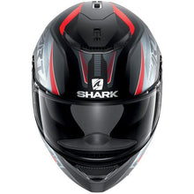 SHARK SPARTAN KARKEN MATTE BLACK/RED/ANTHRACITE HELMET