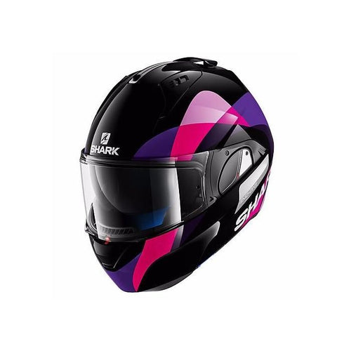 SHARK EVO-ONE PRIYA BLACK/VIOLET HELMET