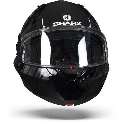 SHARK EVO-ONE 2 LITHION DUAL BLACK/CHROME/ANTHRACITE HELMET