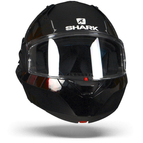 SHARK EVO-ONE 2 LITHION DUAL BLACK/CHROME/RED HELMET