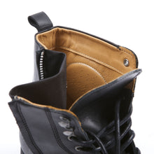 HELSTONS CITY LEATHER BOOTS - ANILINE BLACK