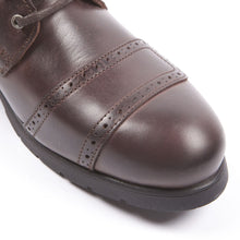 HELSTONS TRAVEL LEATHER BOOTS - ANILINE BROWN