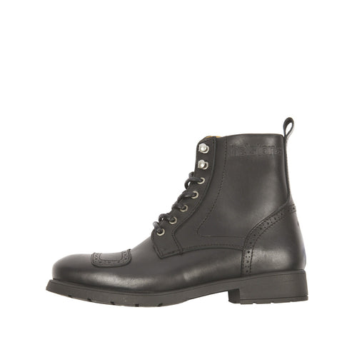 HELSTONS TRAVEL LEATHER BOOTS - ANILINE BLACK