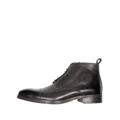 HELSTONS HERITAGE LEATHER BOOTS - BLACK