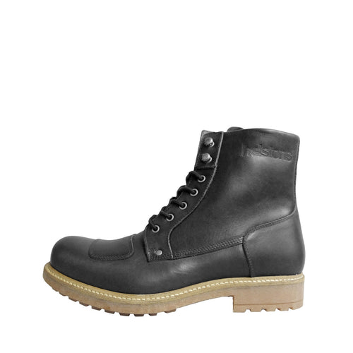 HELSTONS MOUNTAIN LEATHER BOOTS - ANILINE BLACK