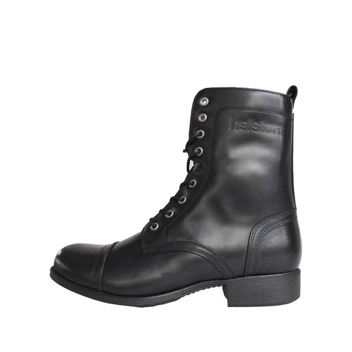 HELSTONS LADY LEATHER BOOTS - ANILINE BLACK