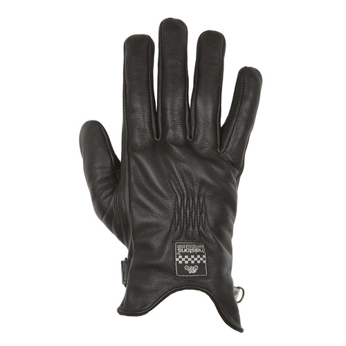 HELSTONS CONDOR SUMMER LEATHER GLOVE BLACK (SIZE: T12)
