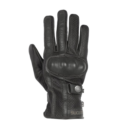 HELSTONS EAGLE SUMMER GLOVE - BLACK