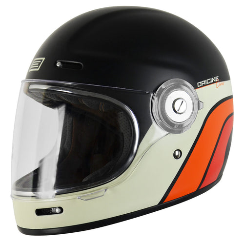 ORIGINE VEGA CLASSIC HELMET - MATTE BLACK/STRIPES