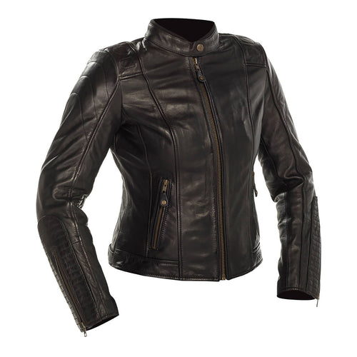 RICHA LADIES LAUSANNE LEATHER JACKET - BLACK