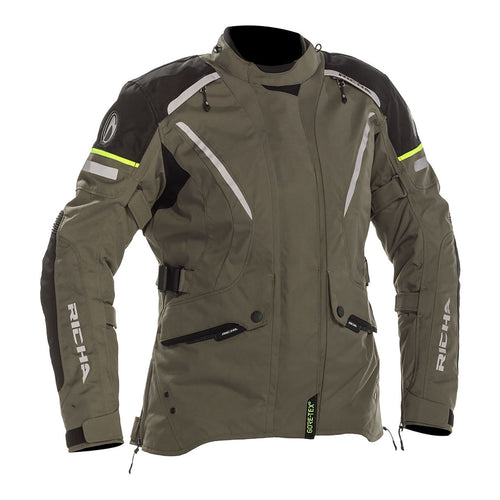 RICHA LADIES CYCLONE GORE-TEX JACKET - TITANIUM