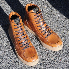 ROKKER CITY SNEAKERS / BOOTS - LIGHT BROWN
