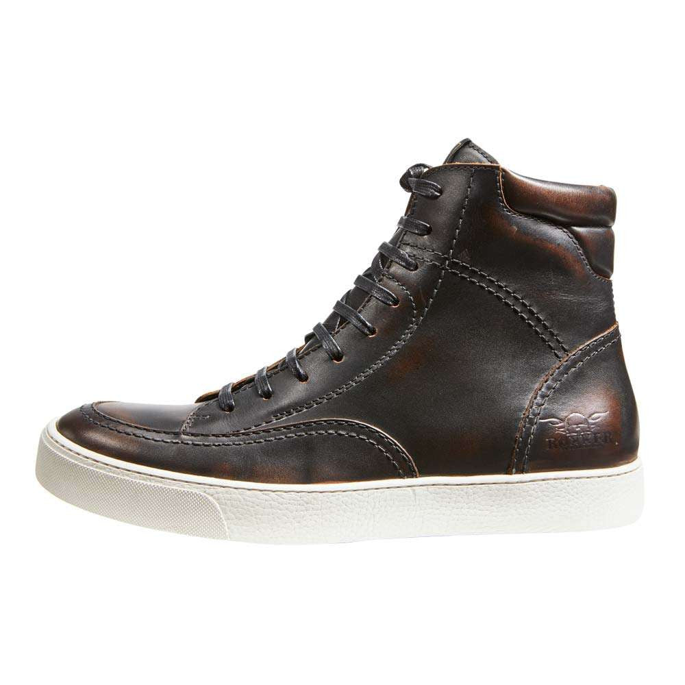 ROKKER CITY SNEAKERS / BOOTS - ANTIQUE BLACK