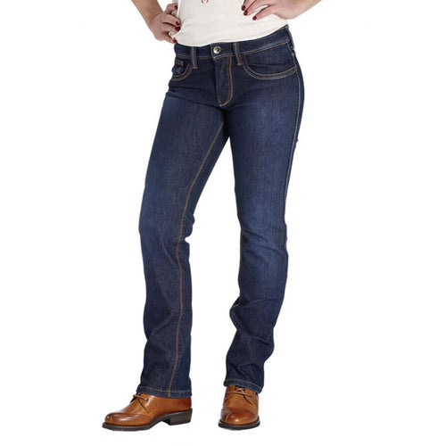 ROKKER REVOLUTION WATERPROOF STRETCH LADIES JEANS - BLUE