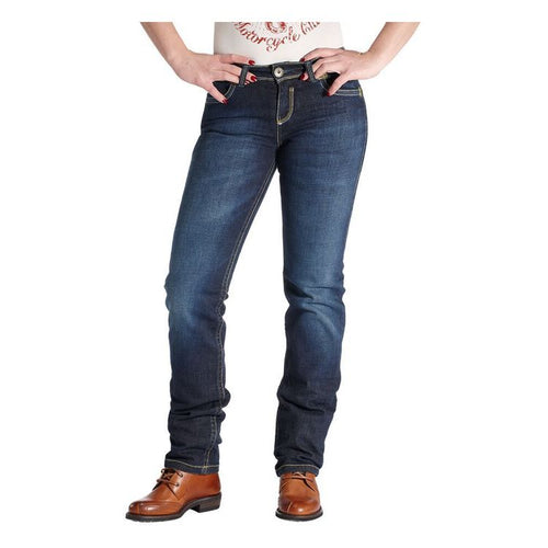 ROKKER THE LADY JEANS STONEWASHED - BLUE (WAIST: 28/LEG: 32)