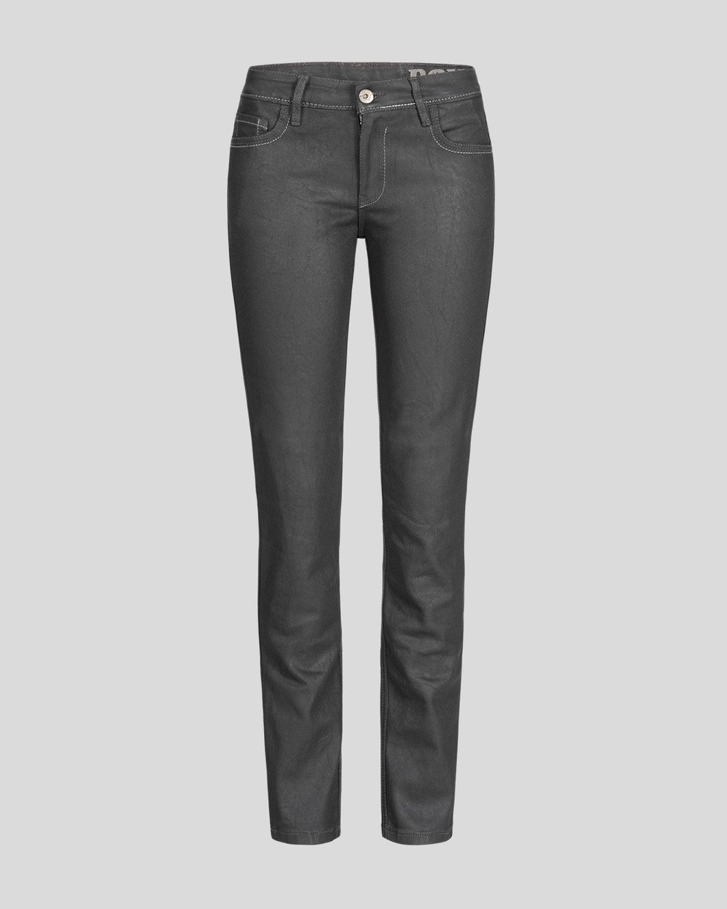 ROKKER THE LADY BLACK  JEANS STONEWASHED
