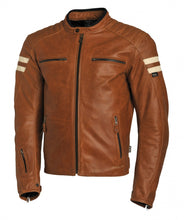 SEGURA RETRO JACKET – CAMEL