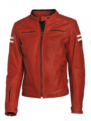 SEGURA RETRO LADY JACKET – RED/WHITE