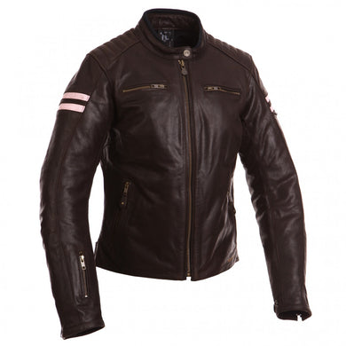 SEGURA RETRO LADY JACKET – BROWN/ROSE