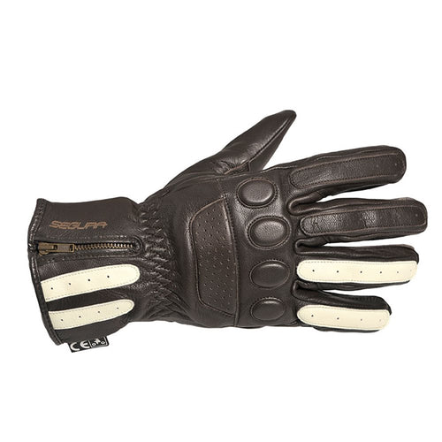 SEGURA REEVE GLOVES - BROWN