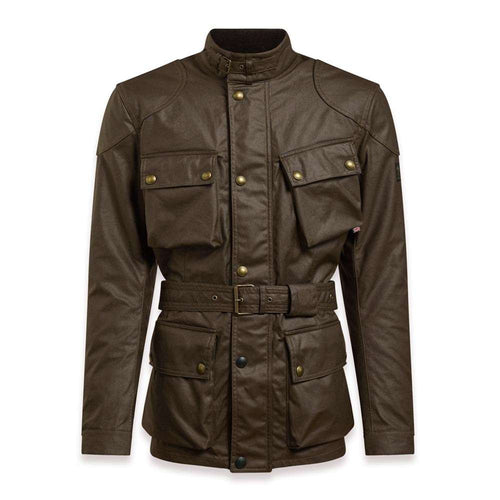 BELSTAFF 2020 SIGNATURE TRIALMASTER PRO WAX COTTON JACKET - MAHOGANY