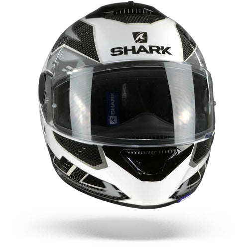 SHARK 2020 SPARTAN ANTHEON HELMET WHITE/SILVER/BLACK