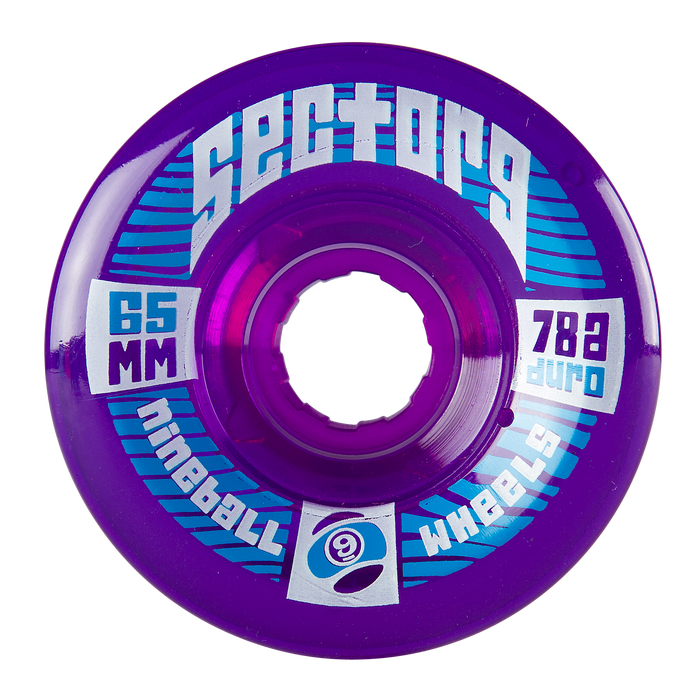 Sector 9 - 65mm 9BALL 78a PURPLE