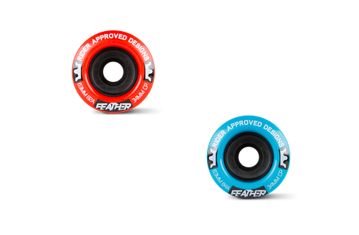 R.A.D. - 63mm FEATHER 82a(Red) / 84a(Blue)
