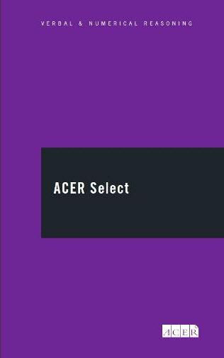 ACER Select - Professional (verbal reasoning ability)