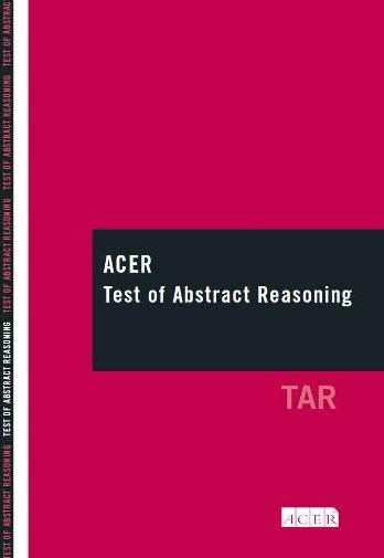 ACER Test of Abstract Reasoning (Long Form)