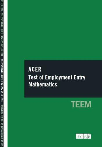 ACER Test of Employment Entry Mathematics