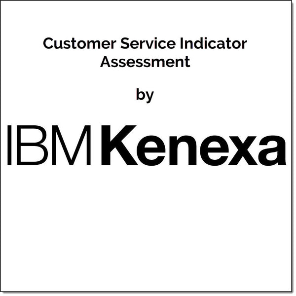 Customer Service Indicator Assessment