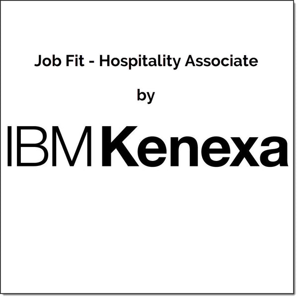 IBM Kenexa Job Fit - Hospitality Associate