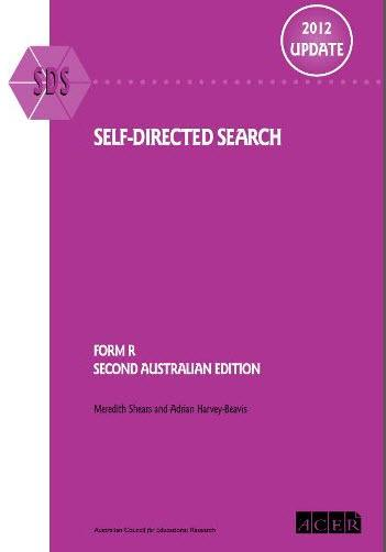 Self-directed Search - 2012