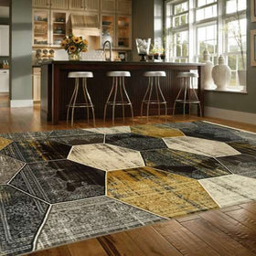 Satin Beige Lounge Rugs
