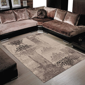 Boston Brown Lounge Rugs