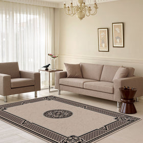 Dynasty Beige Lounge Rugs