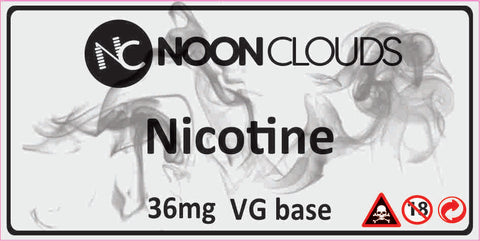 Nicotine VG Base - 36mg (50ml)