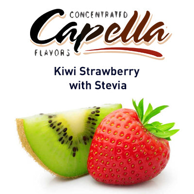 Capella Kiwi Strawberry with Stevia 20ml
