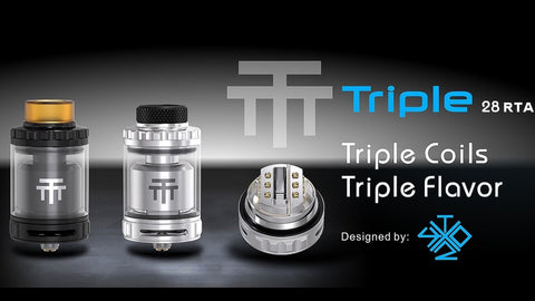 Triple 28 RTA by Vandy Vape