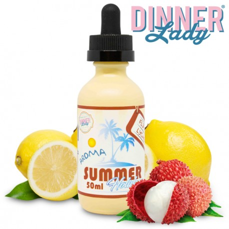 Summer Holidays by Dinner Lady -  Flip Flop Lychee