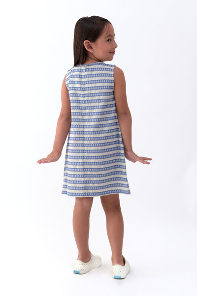 Striped Shift Dress (GDS 327)