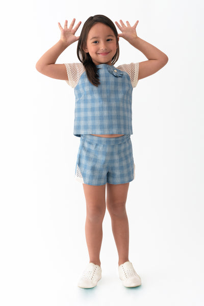 Raglan Top and Shorts Set (GSET 015)