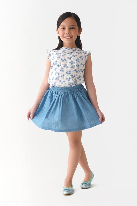 Sleeveless Cotton Tutu Dress (GDS 320)