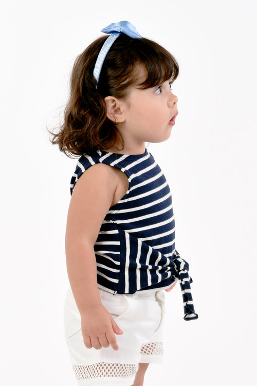 Striped Sleeveless Tee (GBL 383)