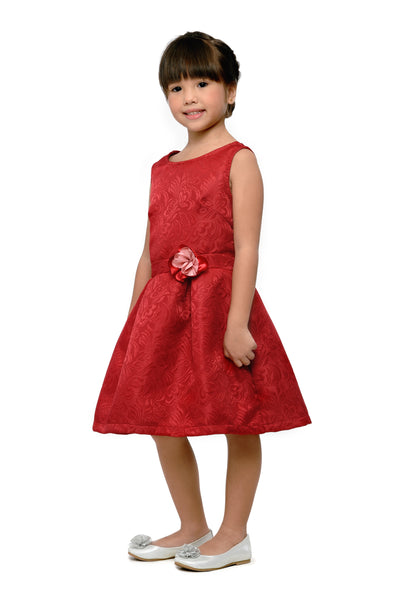 Embossed Pleated Dress (GDS 392)