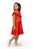 Asymmetric Ruffled Dress (GDS 406)