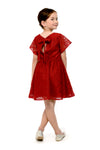 Bell Dress (GDS 422) Wine red