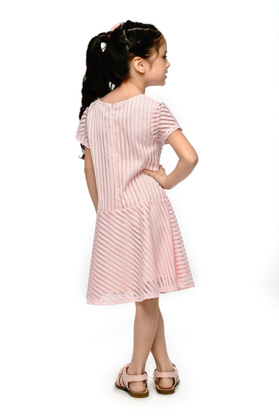 Striped Jacquard Dress (GDS 435)