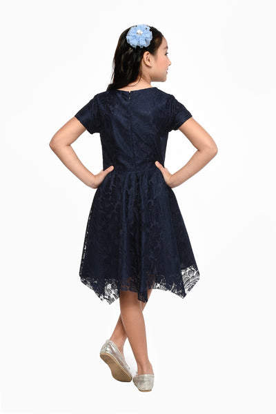 Hanky Dress - Navy (GDS 464)